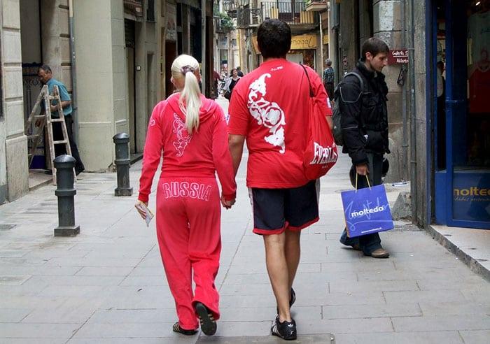 Русская Барселона: туристы