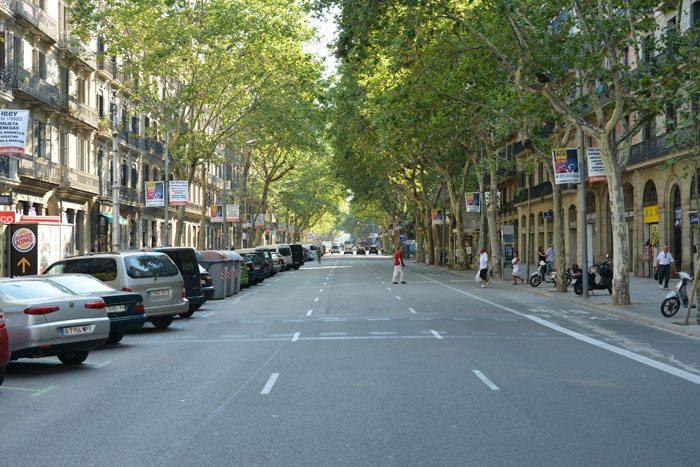 Улицы города, Барселона глазами Ирины