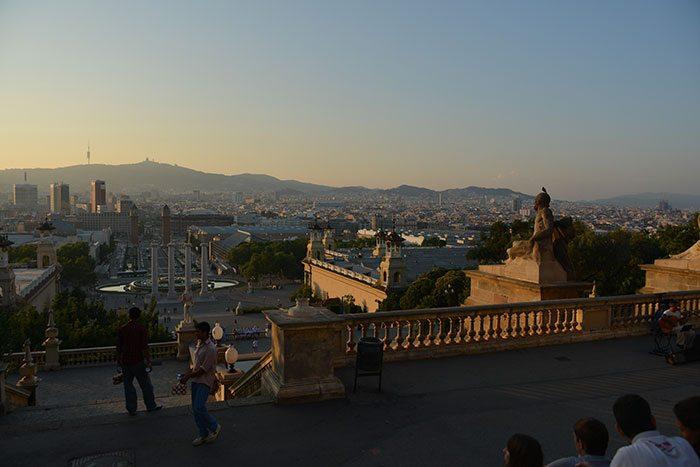 Гора Монтжуик, Барселона глазами Ирины