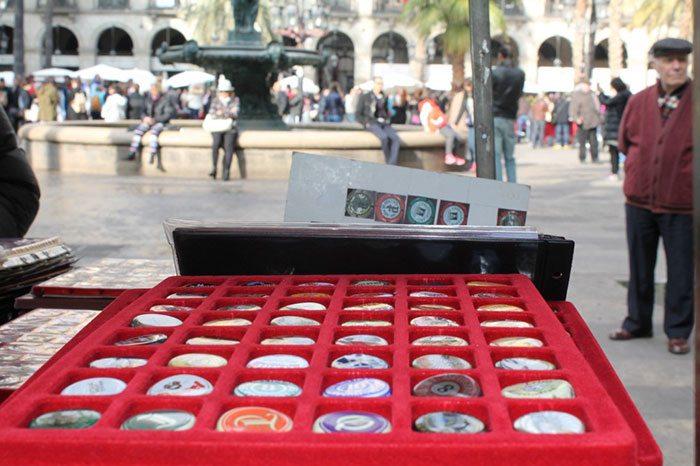 Блошиные рынки в Барселоне: рынок Fira de Nautumismo