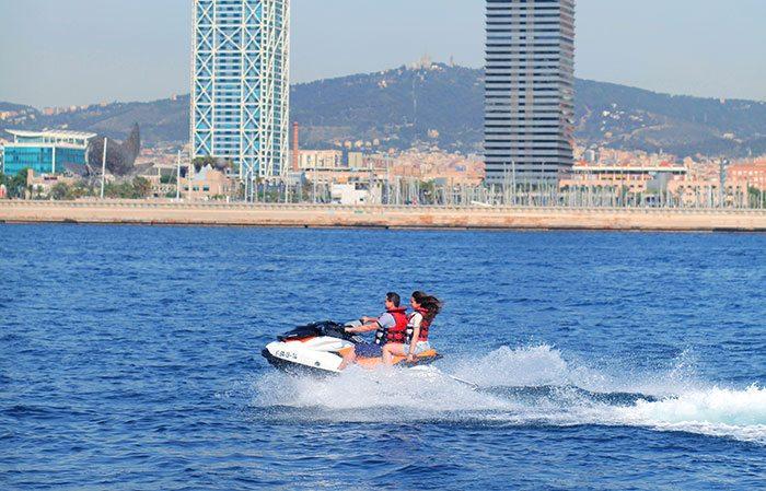 Гидроцикл в Барселоне