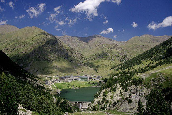 Валь де Нурия, Пиренеи