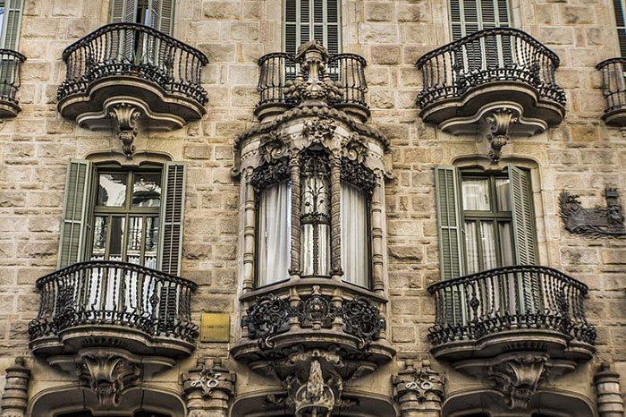 Барселона Гауди, Дом Кальвет
