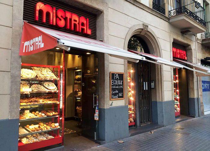Лучшие кондитерские Барселоны, кондитерская Mistral