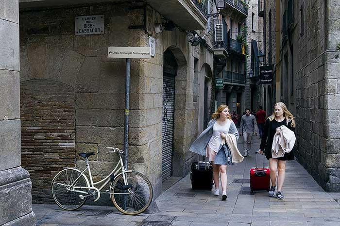 Как одеваться в Барселоне в октябре