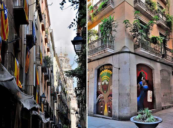 Купальный сезон в Барселоне в октябре