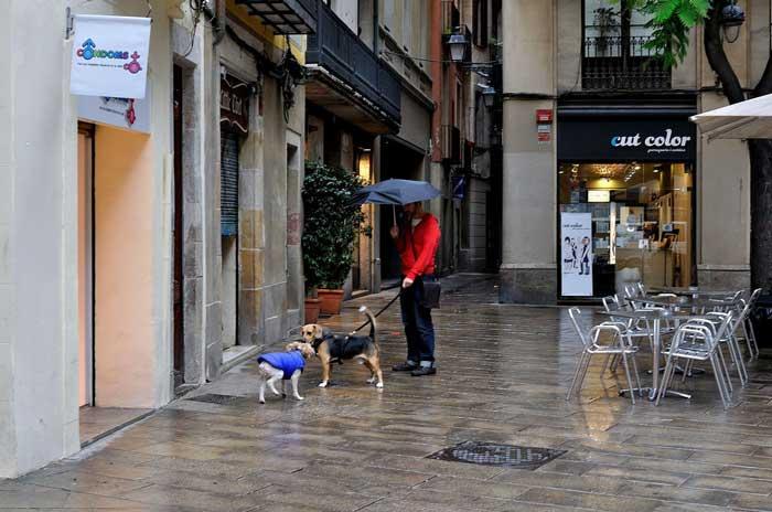 Барселона в октябре: погода