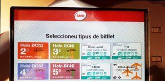 Билеты на автобусы и метро в Барселоне