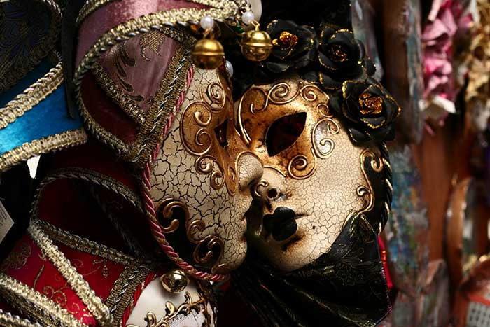 Arlequín Máscaras