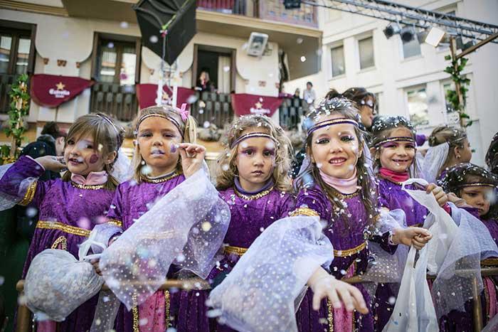 Карнавал в Барселоне в 2017 году