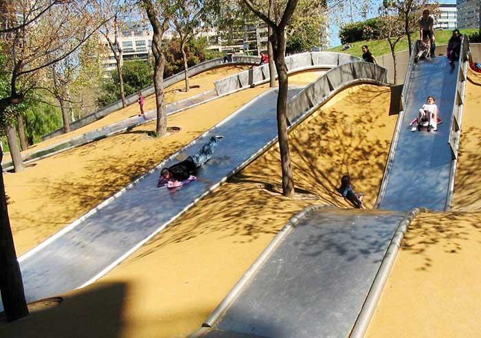 Развлечения для всей семьи в парке Диагональ Мар