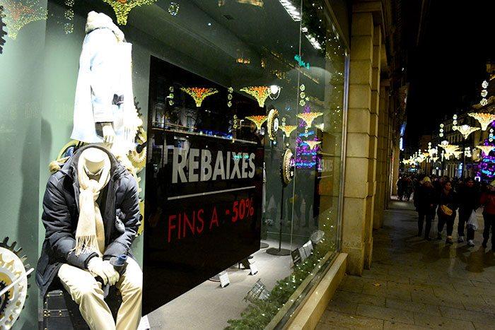Распродажи в Барселоне зимой