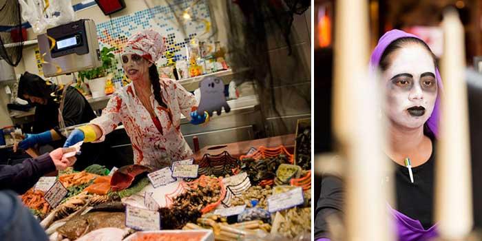 Хеллоуин в Барселоне