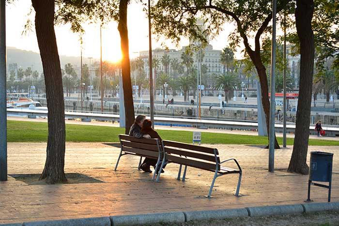 Барселона на велосипеде: Барселонета
