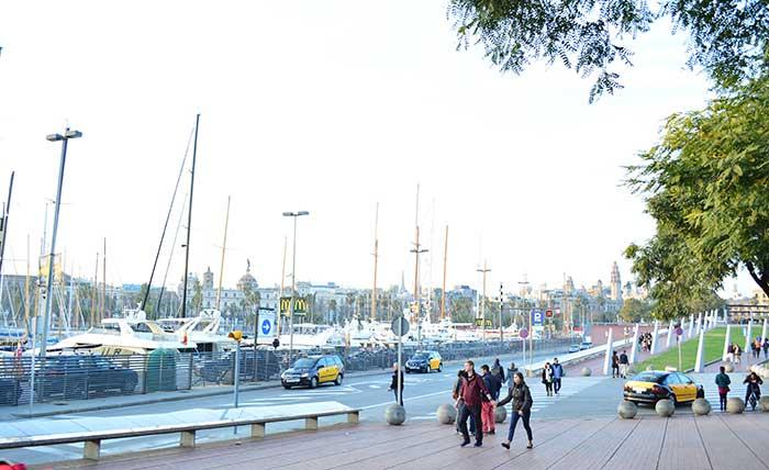 Барселона в январе – холодная и ветреная