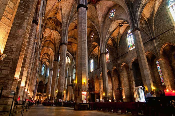 Готическая Барселона: Церковь Санта Мария дель Мар