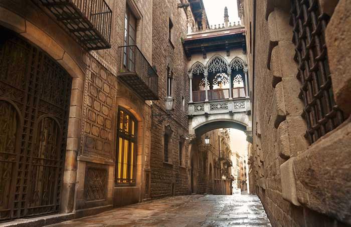 Готическая Барселона и ее достопримечательности
