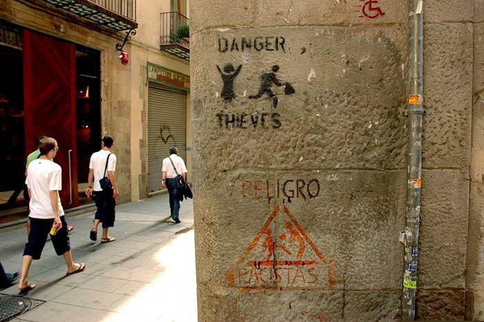 Барселона - европейская столица воровства