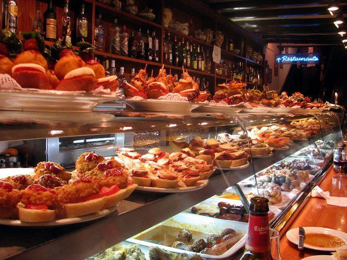 Тапас в Барселоне: Aguaribay, Побле Ноу
