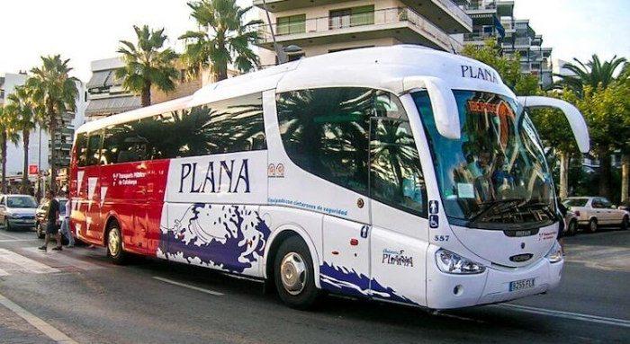 Автобусы из аэропорта в направлении Ла Пинеда