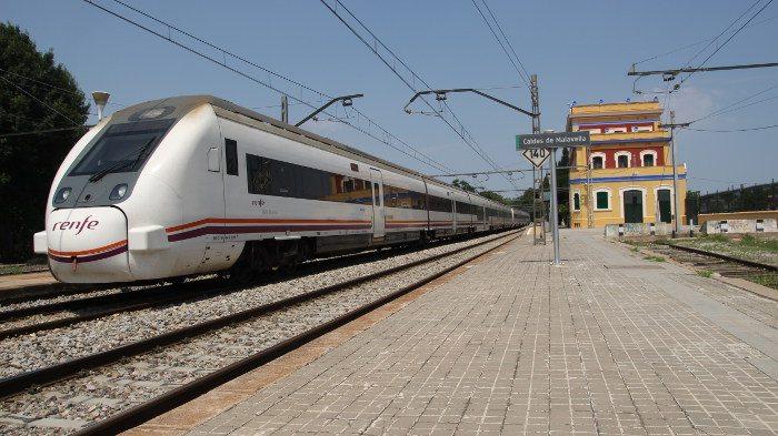 от Барселоны до Жироны поездом