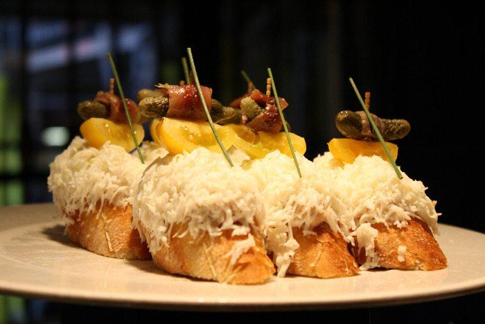 Необычная еда Барселона