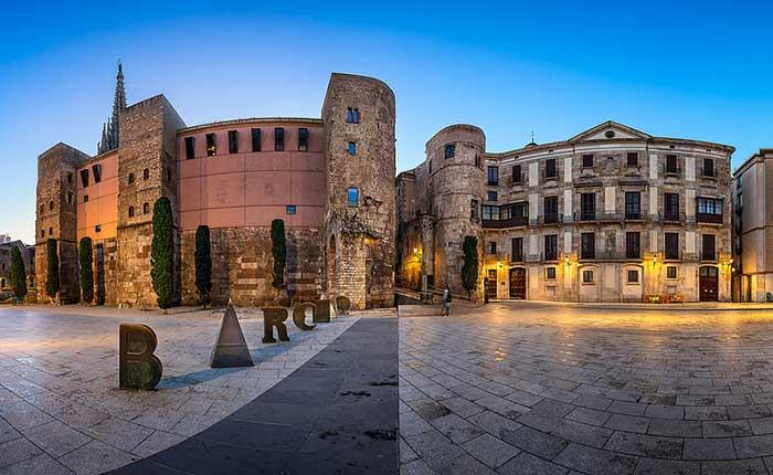 В Готическом квартале каталонской столицы имеется средневековый комплекс