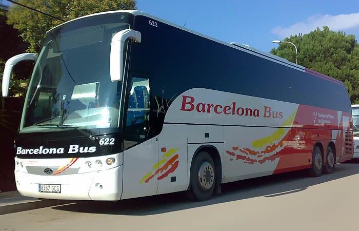 из аэропорта Жироны до Барселоны автобусом