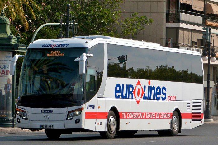 Из Барселоны в Париж на автобусе