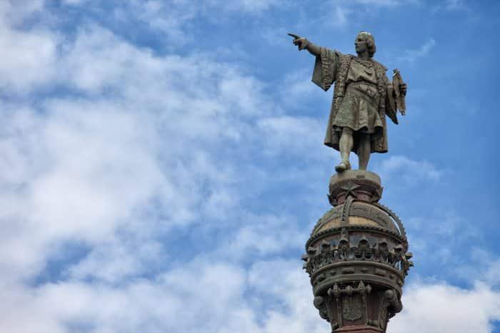 Колумб в Барселоне: памятник
