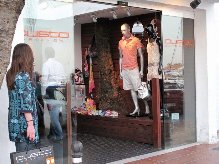 магазины в Барселоне