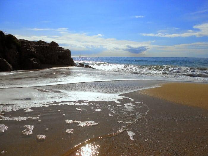 La Picordia playa de Arenys de Mar