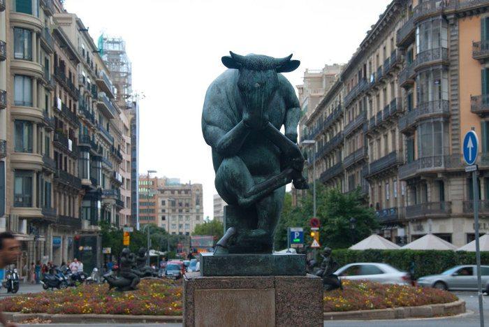 Памятник Бык-мыслитель
