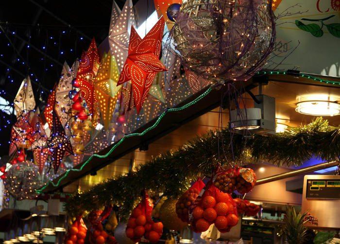 рождественские ярмарки Барселоны