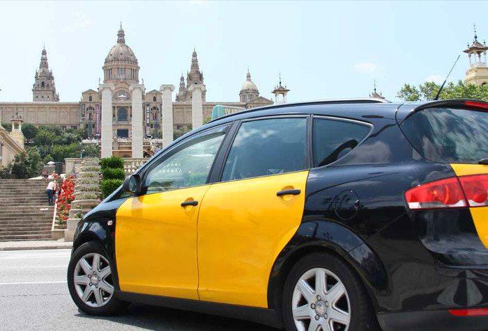 Как взять такси в Барселоне