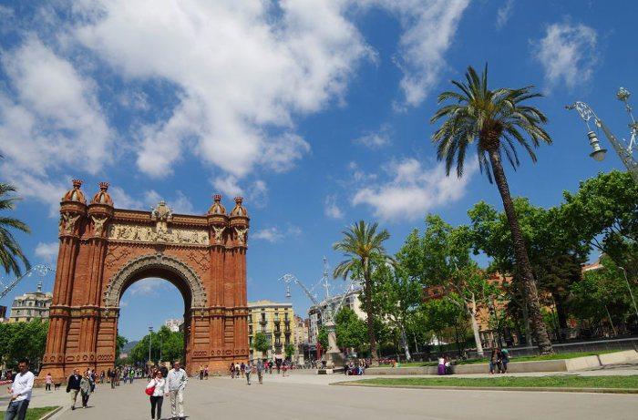 Триумфальная арка в Парке Цитадели