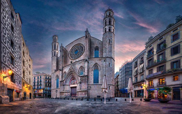 Архитектура Барселоны Церковь Санта-Мария-дель-Мар
