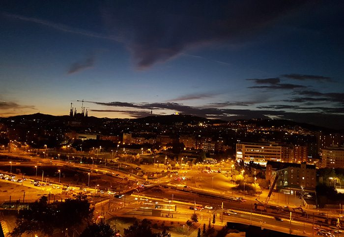 Проспект Диагональ в Барселоне