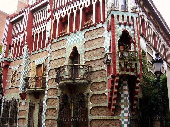 Архитектура Гауди: Дом Висенс
