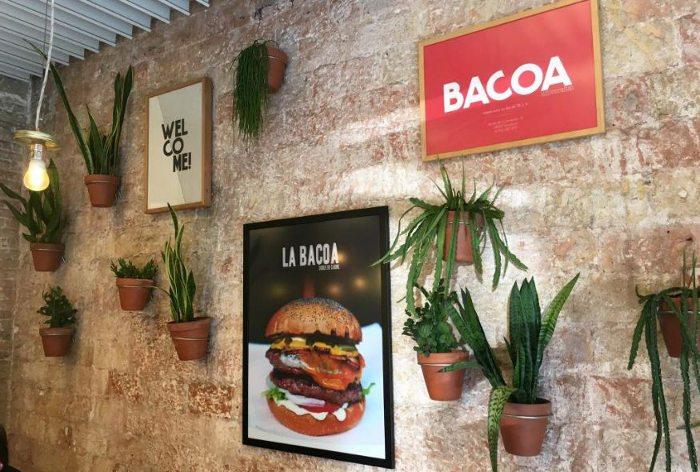 Гамбургеры ресторанов BACOA