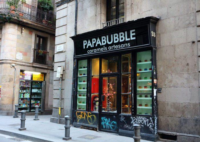 магазин конфет Papabubble