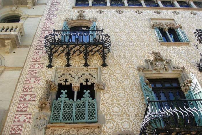 Фасад Дома Амалье