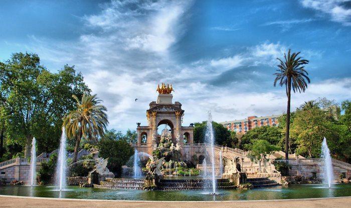 Фонтан Монументаль в парке Цитадель