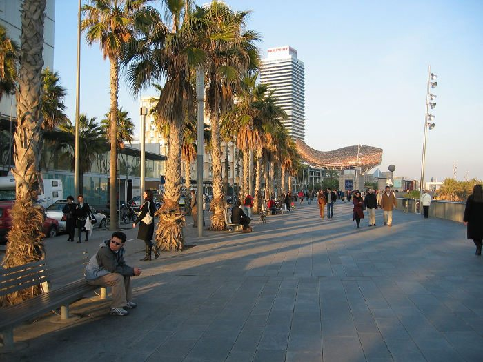 Отели в Барселоне для любителей моря
