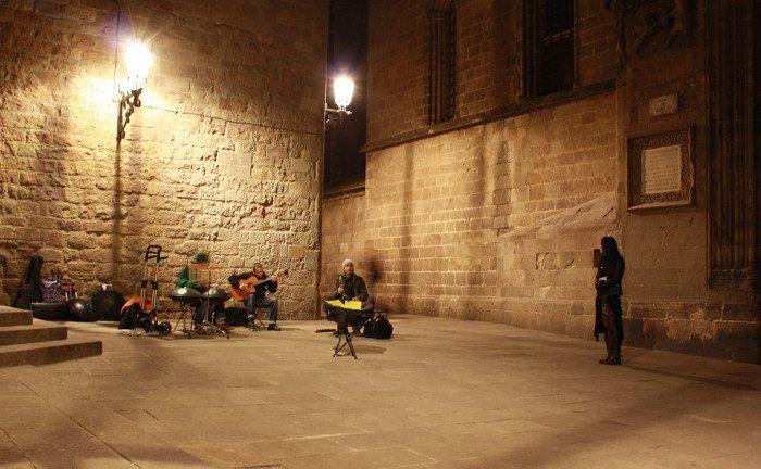Ночь в Барселоне