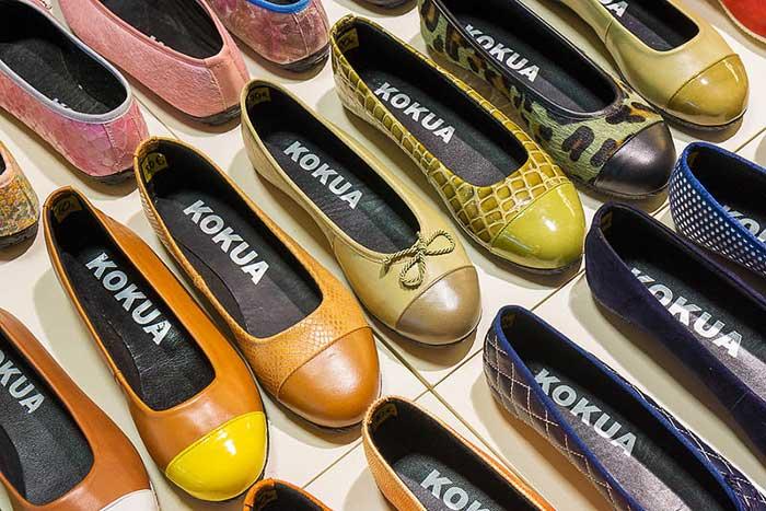 Обувь в Барселоне для девушек: балетки Kokua