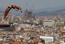 Открытые бассейны Барселоны