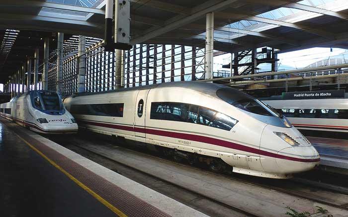 Поезд Барселона - Мадрид