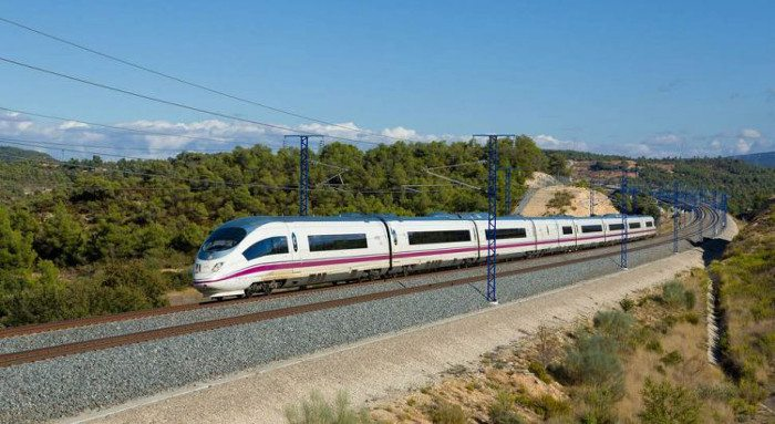 Скоростной поезд Барселона – Мадрид