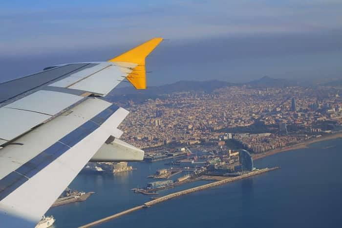 Полет в Барселону